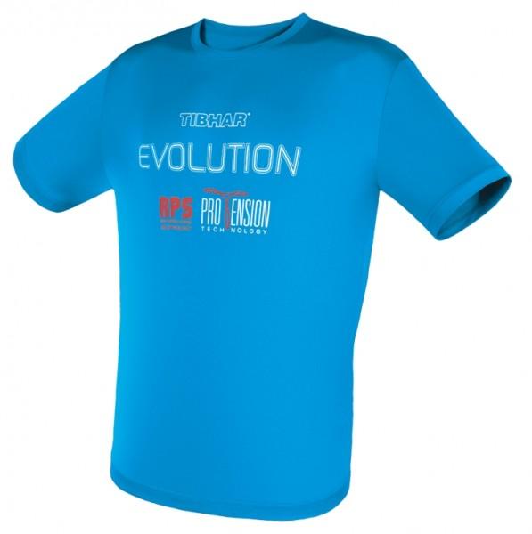 Tibhar T-Shirt Evolution blau