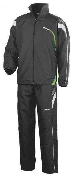 Tibhar Anzug Trial schwarz/grün