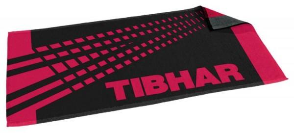 Tibhar Handtuch Spectra schwarz/rot