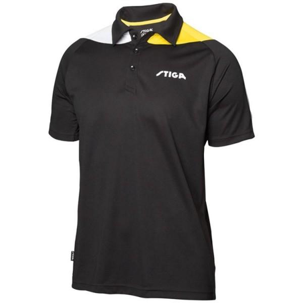 Stiga Hemd Pacific schwarz/gelb/weiß