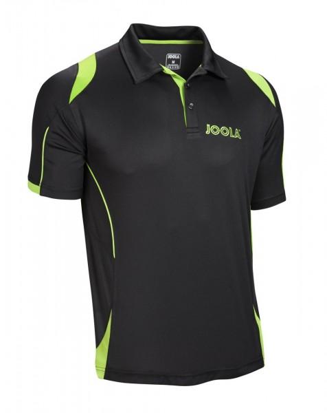 Joola Hemd Emox Baumwolle schwarz/grün