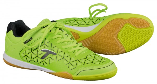 Tibhar Schuh Revolution Flex limegrün/schwarz