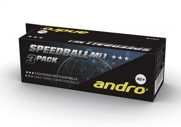 andro Ball Speedball Mi1 40+ *** 3er Pack