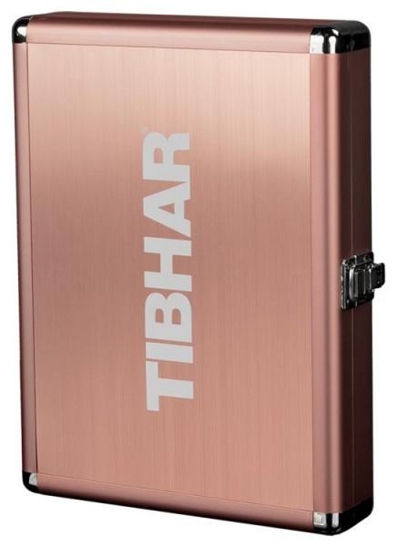 Tibhar Schlägerkoffer Alum Cube Exclusive bronze