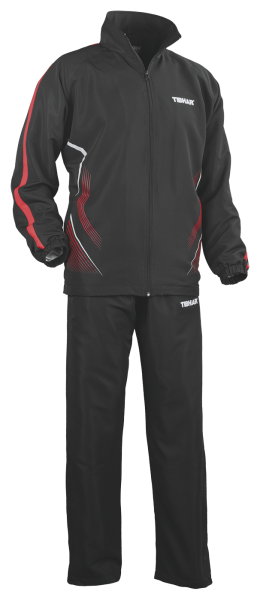 Tibhar Anzug Magic schwarz/rot