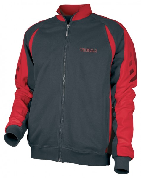 Tibhar Sweatjacke Arrows marine/rot
