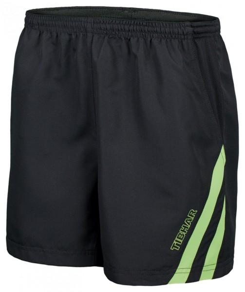 Tibhar Short Stripe schwarz/grün