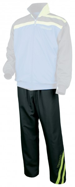 Tibhar Anzughose Stripe schwarz/grün