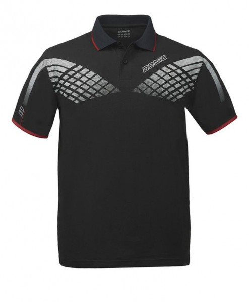 Donic Hemd Hyper Flex schwarz