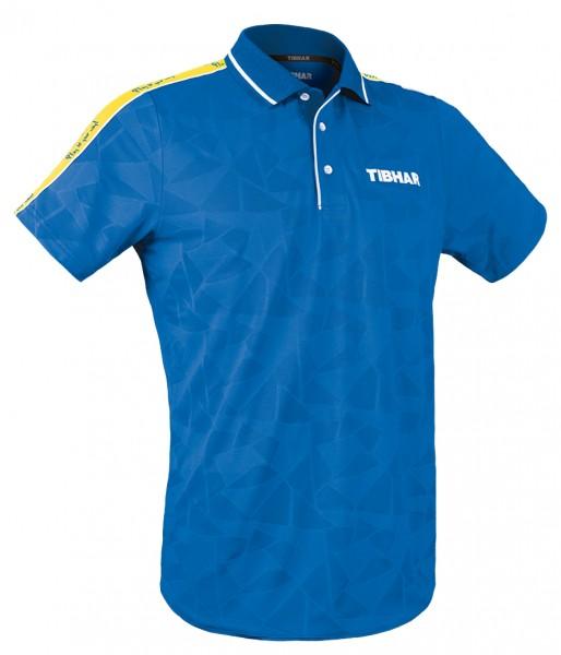 Tibhar Hemd Primus blau/gelb