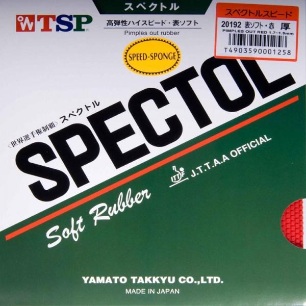 TSP Belag Spectol Speed Sponge rot max