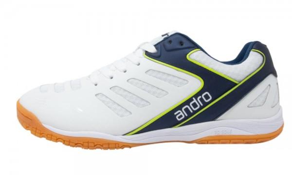 andro Schuh Cross Step weiß/blau/grün