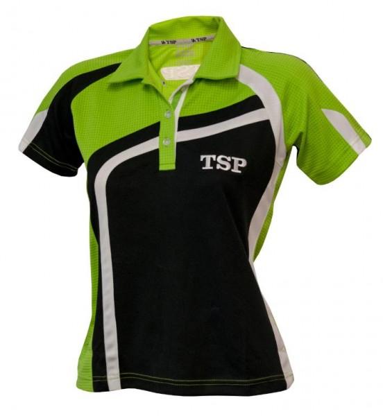 TSP Hemd Kireina Lady schwarz/grün/weiß