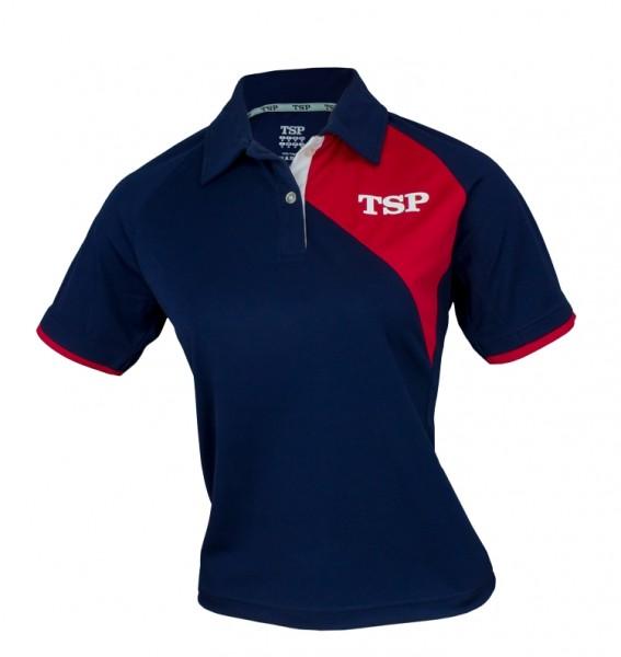 TSP Hemd Tameo Lady marine/rot