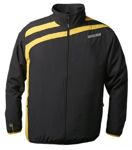 Donic Anzugjacke Drift schwarz/gelb