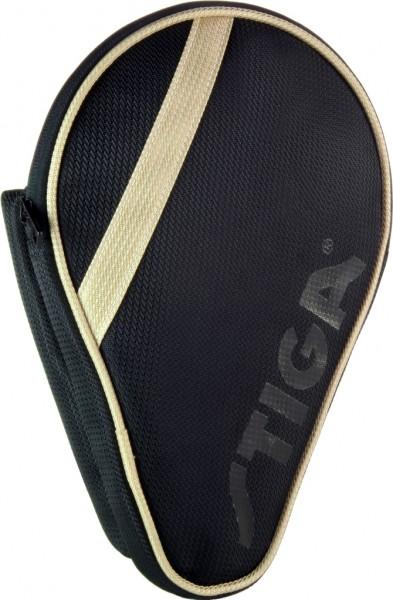 Stiga Einzelhülle League oval schwarz/gold