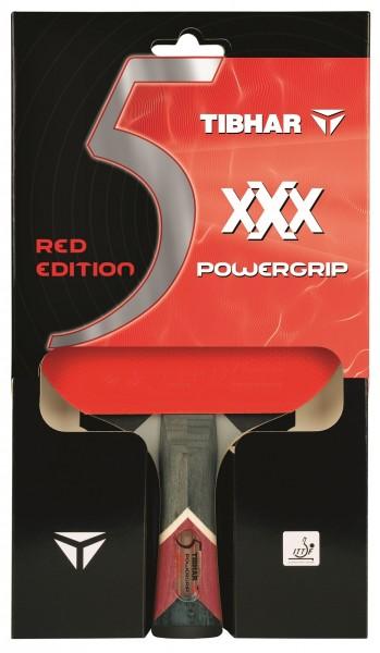 Tibhar Schläger XXX Powergrip Red Edition