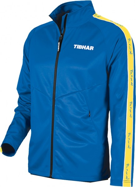 Tibhar Anzugjacke Primus blau/gelb