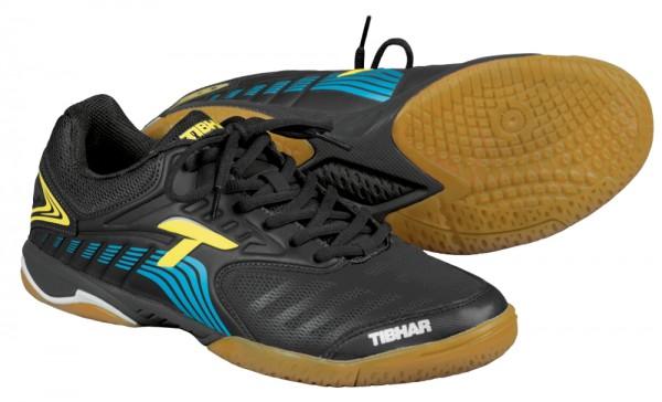 Tibhar Schuh Blizzard Speed schwarz/gelb/blau