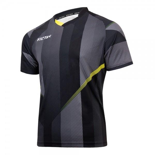 Victas Hemd V-Shirt 218 schwarz