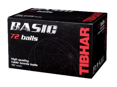 Tibhar Ball Basic 72er Pack