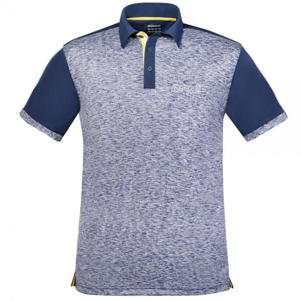 Donic Hemd Melange Pro blau-melange/marine