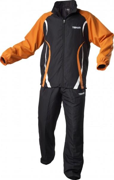 Tibhar Anzug Elite schwarz/orange