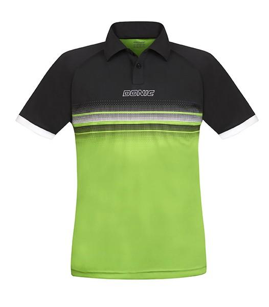 Donic Hemd Draft Kids schwarz/grün