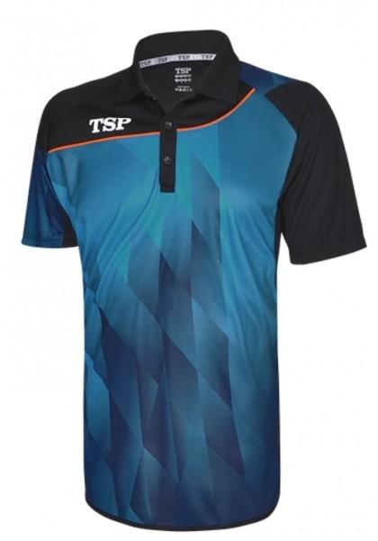 TSP Hemd Hikari blau/schwarz