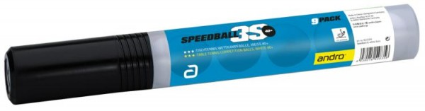 andro Ball Speedball 3S 40+ cellfree ABS 9er Pack
