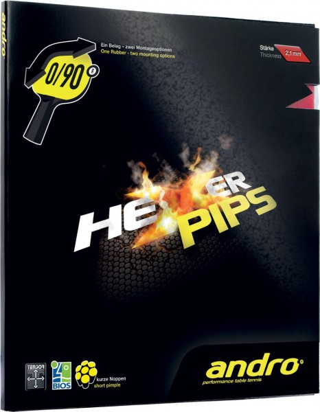 andro Belag Hexer Pips