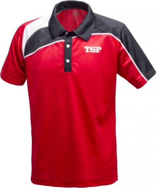 TSP Hemd Akemi rot/schwarz/weiß