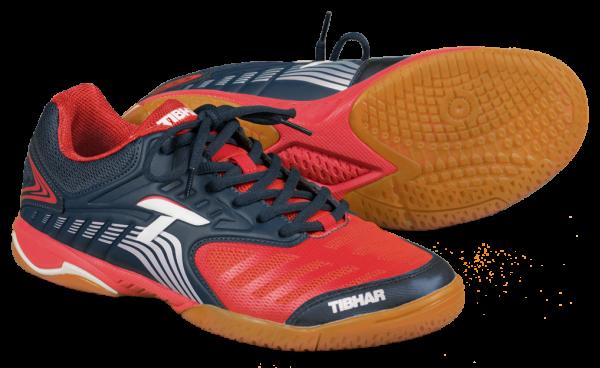Tibhar Schuh Blizzard Speed marine/rot
