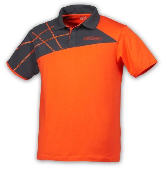Donic Hemd California orange/anthrazit