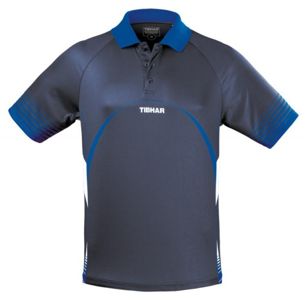 Tibhar Hemd Break marine/blau
