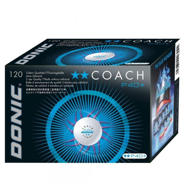 Donic Ball Coach P40+** ABS 120er Pack