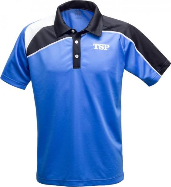 TSP Hemd Akemi blau/schwarz/weiß