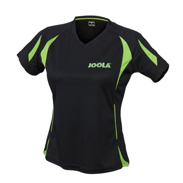 Joola Hemd Matera Lady schwarz/grün