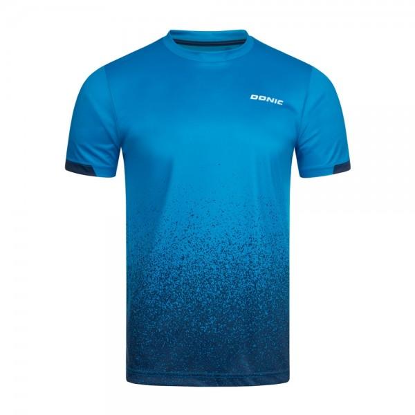 Donic T-Shirt Split royalblau/marine