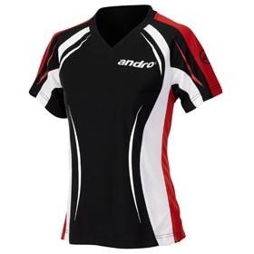 andro Shirt Wega Woman schwarz XXL=46