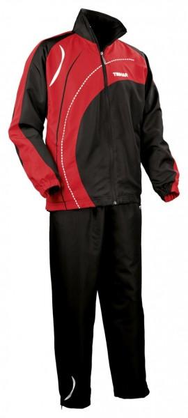 Tibhar Anzug Tour schwarz/rot