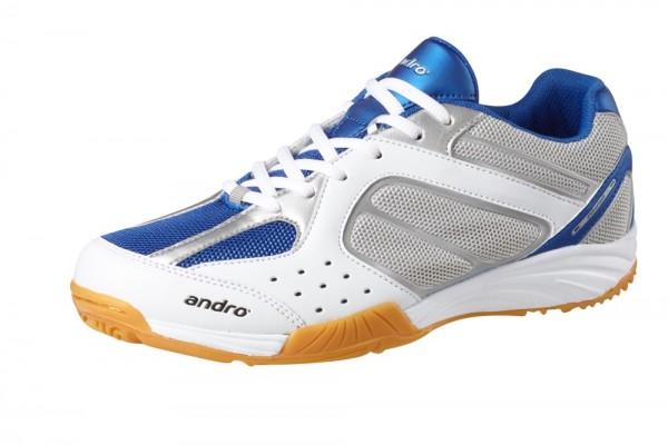 andro Schuh Alpha Step II blau/weiß