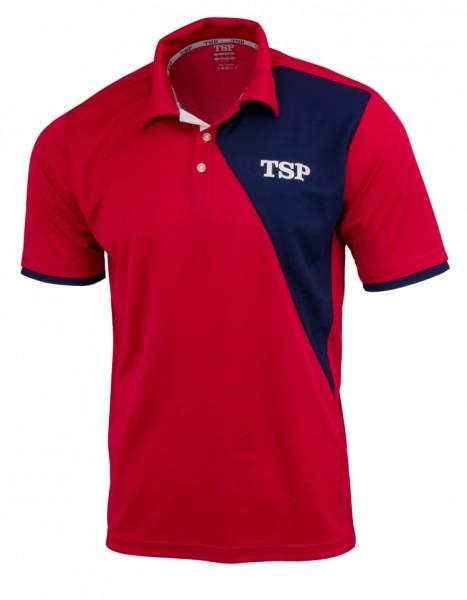 TSP Hemd Tameo Men Poly rot/marine M