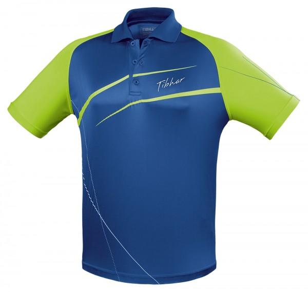 Tibhar Hemd Orbit blau/grün
