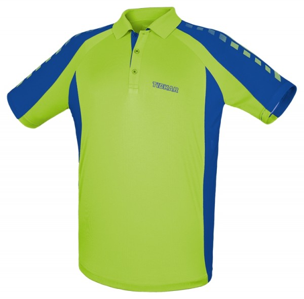 Tibhar Hemd Arrows Men neongrün/blau