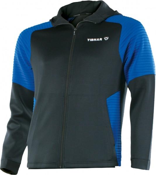 Tibhar Hoody Pro schwarz/blau