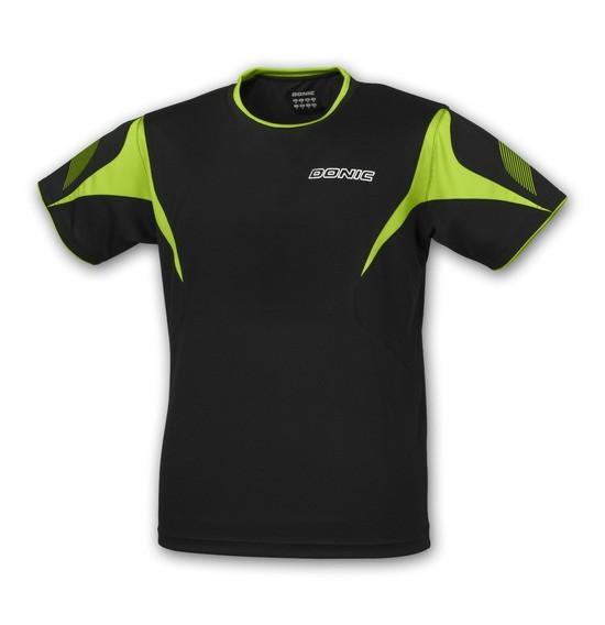 Donic T-Shirt Twist Kids schwarz/grün