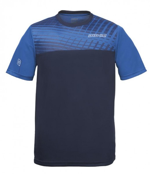 Donic T-Shirt Vertigo royalblau/marine