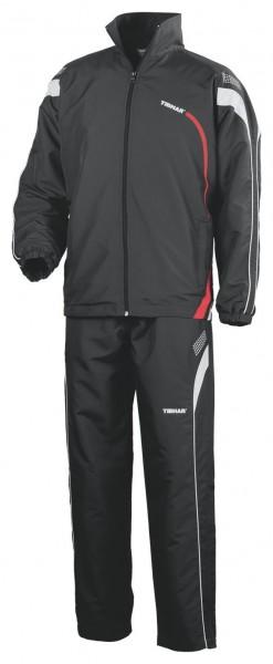 Tibhar Anzug Trial schwarz/rot