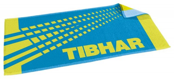 Tibhar Handtuch Spectra blau/limegrün